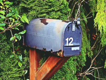 staande brievenbus