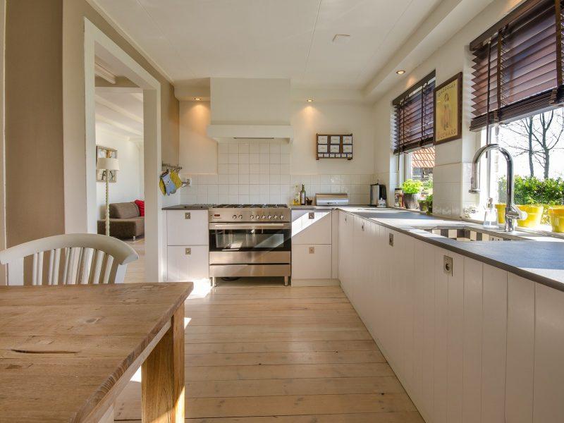 Moderne keuken, dit hoort erin te staan