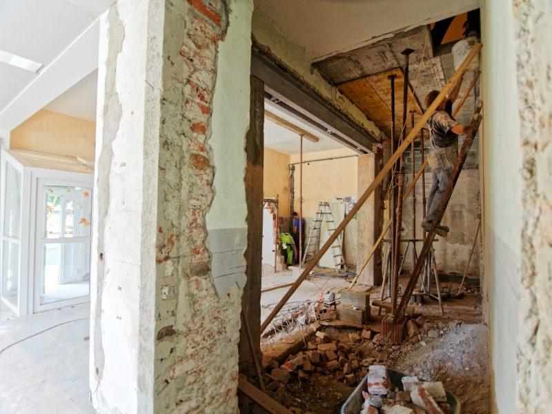 wat te doen met bouwafval bij verbouwen