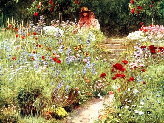Hoe leg je een engelse tuin aan